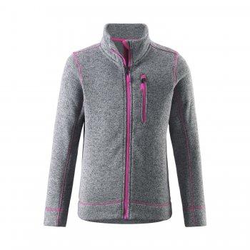 Флисовая кофта Lichen (серый)Одежда<br>Материал: <br>Верх: 100% полиэстер.<br>Описание: <br>Функциональные элементы: <br>Производитель: Reima (Финляндия)<br>Страна производства: Китай<br>Модель производится в размерах: 104-164<br>Коллекция: Осень-Зима 2016<br>Температурный режим: ; Размеры в наличии: 146, 152, 158, 164.<br>