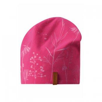 Reima Шапка двухсторонняя Tanssi (розовый с принтом) reima шапка tanssi reima для мальчика