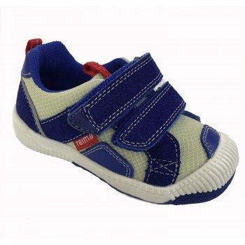 Ботинки Knappe (синий)Обувь<br>Описание: <br><br>Функциональные элементы: <br>Характеристики: <br>Верх: синтетический материал, текстиль<br>Подошва: каучук<br>Подкладка: текстиль<br>Производитель: Reima (Финляндия)<br>Страна производства: Китай<br>Модель производится в размерах: 20-27<br>Коллекция: Весна-Лето 2018<br>Температурный режим: <br>От +10 градусов и выше.; Размеры в наличии: 20, 21, 22, 23, 24, 25, 26, 27.<br>