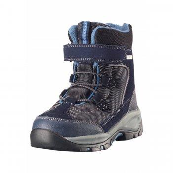 Ботинки Reimatec Denny (синий)Обувь<br>Материал<br>Верх: текстиль, водоотталкивающая замша<br>Подкладка: искусственный мех, стелька из войлока<br>Подошва: каучук<br>Описание: <br>Функциональные элементы: <br>Производитель: Reima (Финляндия)<br>Страна производства: Китай<br>Модель производится в размерах: 28-38<br>Коллекция: Осень-Зима 2017<br>Температурный режим: <br>от +5 до -10 градусов; Размеры в наличии: 30, 31, 32, 33, 34, 35, 36, 37, 38.<br>