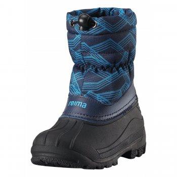 Сноубутсы Nefar (синий с принтом)Обувь<br>; Размеры в наличии: 24, 25, 26, 27, 28, 29, 30, 31, 32, 33, 34, 35.<br>