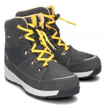 Ботинки Reimatec Wander (черный)Обувь<br>Материал<br>Верх: текстиль, водоотталкивающая замша<br>Подкладка: тестиль, стелька ЭВА<br>Подошва: каучук<br>Описание: <br>Функциональные элементы: <br>Производитель: Reima (Финляндия)<br>Страна производства: Китай<br>Модель производится в размерах: 24-35<br>Коллекция: Осень-Зима 2017<br>Температурный режим: <br>от 0 до +10 градусов; Размеры в наличии: 31, 32, 33, 34, 35, 36, 37, 38.<br>