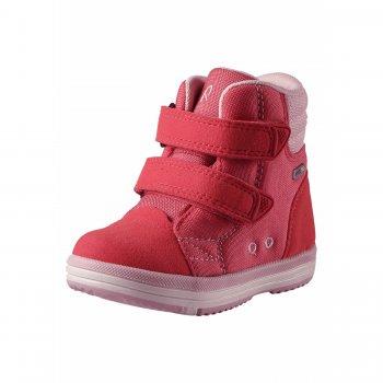Ботинки Patter (розовый)Обувь<br>Описание: <br>Классные весенние ботинки от Reima. Очень легкие, прочные и функциональные, подойдут на температуру от 0 градусов. Ребенок может  не бояться в них слякоти, потому что изготовлены из износостойкого и грязеотталкивающего материала. Широкий размерный ряд и большой выбор цветов на любой вкус. <br>Функциональные элементы: <br>Характеристики: <br>Верх: синтетический материал, текстиль<br>Подошва: каучук<br>Подкладка: лайкра<br>Производитель: Reima (Финляндия)<br>Страна производства: Китай<br>Модель производится в размерах: 20-35<br>Коллекция: Весна-Лето 2018<br>Температурный режим: <br>От 0 градусов и выше.; Размеры в наличии: 20, 21, 22, 23, 24, 25, 26, 27, 28, 29, 30, 31, 32, 33, 34, 35.<br>