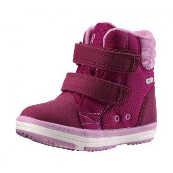 Ботинки Patter (розовый)Обувь<br>Материал<br>Верх: текстиль, водоотталкивающая замша<br>Подкладка: текстиль, стелька ЭВА<br>Подошва: каучук<br>Описание:<br>Функциональные элементы: <br>Производитель: Reima (Финляндия)<br>Страна производства: Китай<br>Модель производится в размерах: 20-35<br>Коллекция: Осень-Зима 2017<br>Температурный режим:<br>от 0 до +10 градусов; Размеры в наличии: 21, 22, 23, 24, 25, 26, 27, 28, 29, 30, 31, 32, 33, 34, 35.<br>