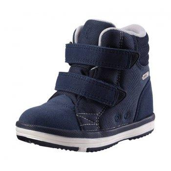 Ботинки Patter (синий)Обувь<br>Классные весенние ботинки от Reima. Очень легкие, прочные и функциональные, подойдут на температуру от 0 градусов. Ребенок может  не бояться в них слякоти, потому что изготовлены из износостойкого и грязеотталкивающего материала. Широкий размерный ряд и большой выбор цветов на любой вкус. <br><br>   Верх: синтетический материал, текстиль<br> Подошва: каучук<br> Подкладка: лайкра<br> Производитель: Reima (Финляндия)<br> Страна производства: Китай<br> Модель производится в размерах: 20-35<br> Коллекция: Весна-Лето 2018<br><br> Температурный режим <br> От 0 градусов и выше.; Размеры в наличии: 20, 21, 22, 23, 24, 25, 26, 27, 28, 29, 30, 31, 32, 33, 34, 35.<br>