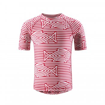 Футболка для пляжа Fiji (розовый)Одежда<br>; Размеры в наличии: 92, 98, 104, 110, 116, 122, 128, 134, 140, 146, 152, 158, 164.<br>