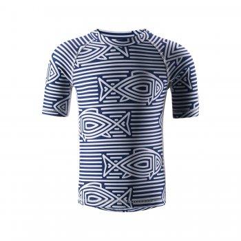 Футболка для пляжа Fiji (ярко-синий)Одежда<br>; Размеры в наличии: 92, 98, 104, 110, 116, 122, 128, 134, 140, 146, 152, 158, 164.<br>