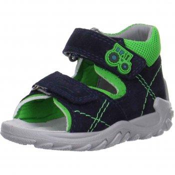 Сандалии (синий с трактором)Обувь<br>; Размеры в наличии: 22, 23, 24, 25, 26.<br>