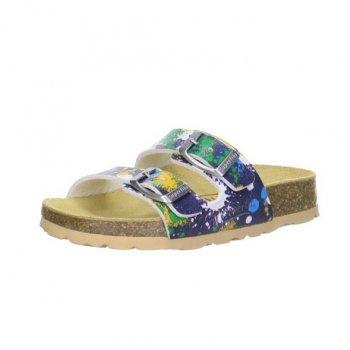 Шлепанцы (синий с кляксами)Обувь<br>; Размеры в наличии: 26, 27, 28, 29, 30, 31, 32, 33, 34, 35, 36, 37, 38, 39.<br>