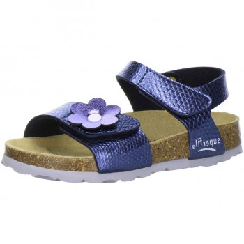 Сандалии (синий с перламутром)Обувь<br>; Размеры в наличии: 24, 25, 26, 27, 28, 29, 30, 31, 32, 33, 34, 35.<br>