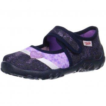 Сандалии текстильные (синий с сердцем)Обувь<br>Материал<br>Верх: текстиль<br>Подкладка(внутренний материал): текстиль<br>Стелька: текстиль<br>Подошва: полиуретан<br>Описание<br>Яркие текстильные сандалии. Легкая и удобная обувь, подходящая как для помещений, так и для улицы.<br>Производитель: Superfit (Австрия)<br>Страна производства: Индия<br>Коллекция Весна/Лето 2017<br>Температурный режим<br>От +15 градусов и выше; Размеры в наличии: 26, 27, 28, 29, 30, 31, 32, 33, 34, 35.<br>