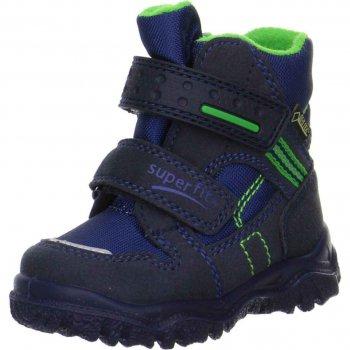 Ботинки Husky (синий с салатовым)Обувь<br>; Размеры в наличии: 21, 22, 23, 24, 25, 26, 27, 28, 29, 30.<br>