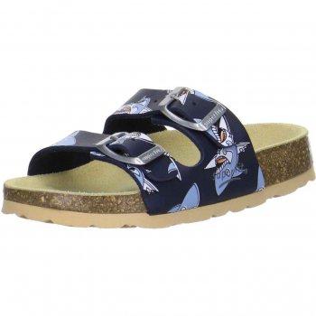 Шлепанцы (синий с акулами)Обувь<br>; Размеры в наличии: 26, 27, 28, 29, 30, 31, 32, 33, 34, 35, 36, 37, 38.<br>