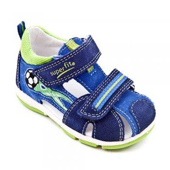 Superfit Сандалии закрытые (синий с мячом) superfit superfit ботинки демисезонные серые