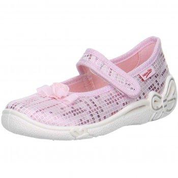Сандалии текстильные (нежно-розовый)Обувь<br>Описание<br>Яркие текстильные сандалии. Легкая и удобная обувь, подходящая как для помещений, так и для улицы.<br>Функциональные элементы: <br>Характеристики: <br>Верх: текстиль<br>Подкладка(внутренний материал): текстиль<br>Стелька: текстиль<br>Подошва: полиуретан<br>Производитель: Superfit (Австрия)<br>Страна производства: Индия<br>Модель производится в размерах: 23-35<br>Коллекция: Весна/Лето 2018<br>Температурный режим<br>От +15 градусов и выше; Размеры в наличии: 23, 24, 25, 26, 27, 28, 29, 30, 31, 32, 33, 34, 35.<br>