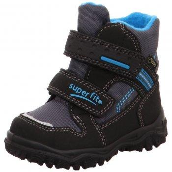 Superfit Ботинки Husky (черный с синим) superfit superfit ботинки демисезонные серые