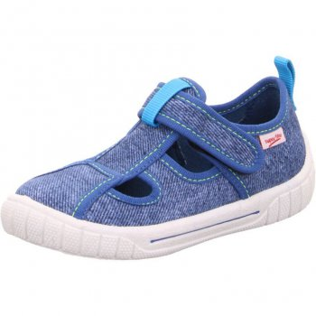 Superfit Сандалии текстильные (голубой джинс) superfit superfit ботинки демисезонные серые