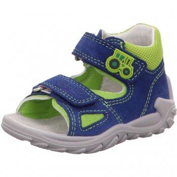 Superfit Сандалии (голубой с трактором) superfit superfit ботинки демисезонные серые