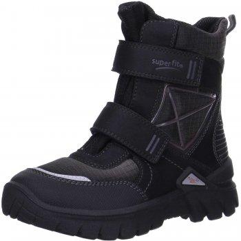 Ботинки POLLUX (черный)Обувь<br>Материал<br>Верх: Текстиль.<br>Подошва: полимерные материалы<br>Подкладка (внутренний материал): Зимний утеплитель, стелька: шерсть.<br>Описание<br>Легкие и мягкие зимние ботинки для детей с мембраной Gore-Tex. <br>Функциональные элементы: вшитый язычок, застежка на липучке, мягкая не скользящая подошва.<br>Производитель: Superfit (Австрия)<br>Коллекция Осень/Зима 2016<br>Страна производства: Индия<br>Температурный режим<br>От 0 до -20 градусов<br>; Размеры в наличии: 31, 32, 33, 34, 35, 36, 37, 38, 39, 40, 41.<br>