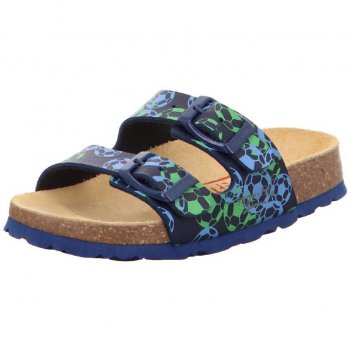 Superfit Шлепанцы (синий с зеленым) superfit superfit ботинки демисезонные серые