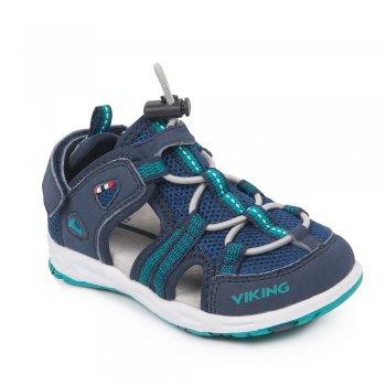 Сандалии закрытые LOKE (синий)Обувь<br>; Размеры в наличии: 26, 27, 28, 29, 30, 31, 32, 33, 34, 35.<br>