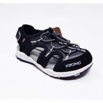 Viking Закрытые сандалии THRILL II (черный) viking сандалии закрытые thrill серый