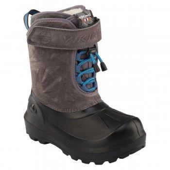 Сноубутсы NORDLYS SUEDE (коричневый)Обувь<br>Материал<br>Верх: 65% натуральная замша, 35% полиуретан<br>Внутренняя отделка: внутри съемный сапожок, 70% эко мех (100% полиэстер),<br> 30% натуральная шерсть<br>Подошва: натуральная резина<br>Описание<br>Производитель: Viking (Норвегия)<br>Страна производства: Вьетнам<br>Модель производится в размерах: 25-40<br>Коллекция Осень/Зима 2017<br>Температурный режим<br>От 0 до -30 градусов; Размеры в наличии: 27, 28, 29, 30, 31, 32, 33, 34, 35, 36, 37, 38, 39, 40.<br>