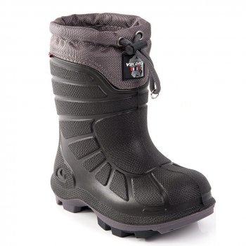 Сапоги EXTREME (черный с серым)Обувь<br>Материал<br>Верх: полиуретан Elastopan<br>Внутренняя отделка: мех (70% полиэстер, 30% шерсть)<br>Подошва: термостойкая резина.<br>Описание<br>Производитель: Viking (Норвегия)<br>Страна производства: Вьетнам<br>Модель производится в размерах: 21-39.<br>Коллекция Осень/Зима 2017.<br>Температурный режим<br>От 0 до -30 градусов.<br>; Размеры в наличии: 21, 22, 23, 24, 25, 26, 27, 28, 29, 30, 31, 32, 33, 34, 35, 36, 37, 38, 39, 39.<br>