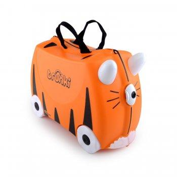 Trunki Чемодан на колесиках Тигр чемодан trunki на колесиках тигр 0085 wl01 p1