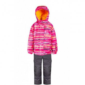 Комплект Gusti Boutique (розовый в полоску)Комбинезоны<br>Материал: <br>Верх: 100% полиэстер<br>Утеплитель:  куртка - 283 грамма, капюшон - 113 грамм, брюки - 170 грамм<br>Подкладка: polar флис (100% полиэстер)<br>Водонепроницаемость: 5000 мм<br>Паропроводимость: 5000 г/м2/24 часа<br>Износостойкость: нет данных<br>Описание: <br>Функциональные элементы: <br>Производитель: Gusti (Канада)<br>Страна производства: Китай <br>Модель производится в размерах: 12 месяцев - 14 лет<br>Коллекция: Осень/Зима 2017<br>Температурный режим: <br>От 0 до -30 градусов; Размеры в наличии: 3, 3х, 4, 5, 6х, 6, 7, 8, 10, 12, 14.<br>
